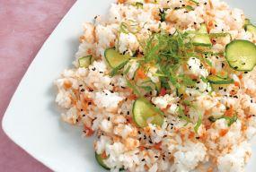 Salmon Chirashi Sushi Bowl