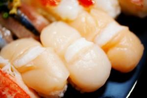 hotate nigiri sushi