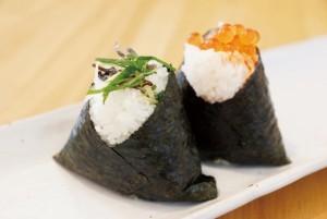 nori onigiri rice balls