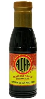 Aloha Teriyaki Sauce