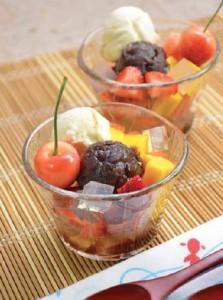 Cream Fruits Anmitsu
