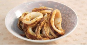 Curry Flavored Squid Rings