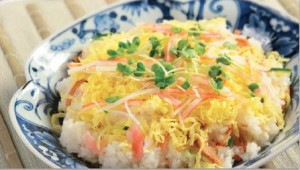 Gari Chirashi Sushi