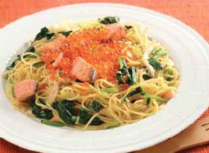 Ikura Oyako Pasta Recipe