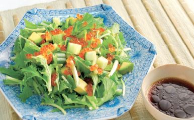 Ikura Salad Recipe