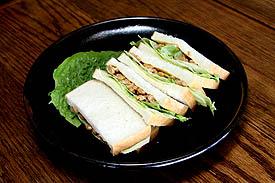 Natto-Sandwich