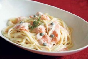 Chilled Salmon Pasta