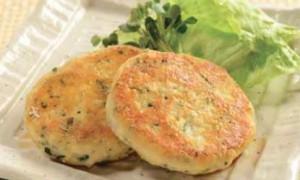 Shirasu Tofu Burger