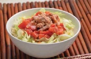 Tomato Tuna Don