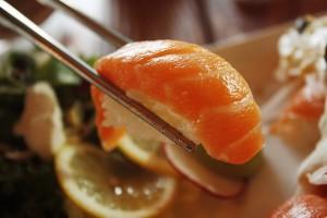 sale salmon sushi