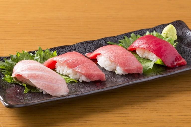 sushi maguro toro