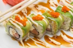 Caterpillar Sushi Roll
