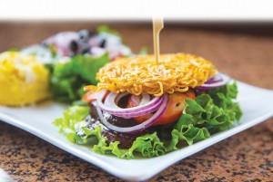 Ramen-Noodlws-Burger