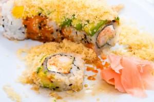 Tiger (Shrimp Tempura) Sushi Roll
