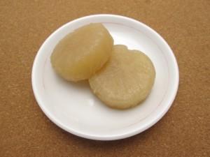 oden daikon (Japanese radish)