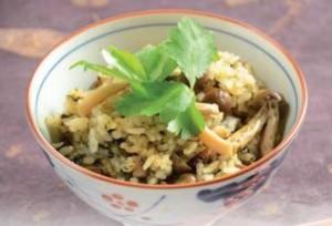 Nori Tsukudani Mushroom Rice