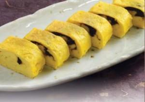Nori Tsukudani Rolled Egg