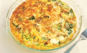 Tamago-Spinach-Cheese-Quiche