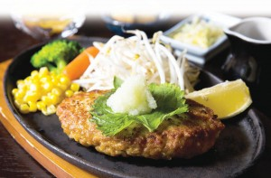 Japanese-Healthy-Chicken-Hamburger-Steak