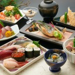 Omotenashi (Japanese hospitality) with Kaiseki-Ryori (Japanese multi-course meal)